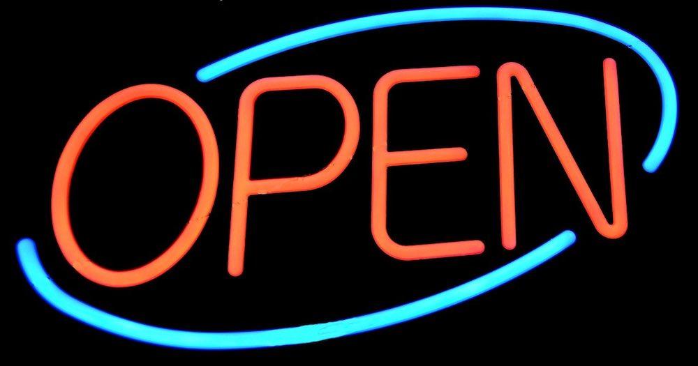 la boutique ouverte